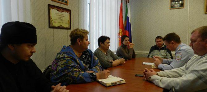 В Варненском районе состоялось заседание Общественного совета при ОМВД