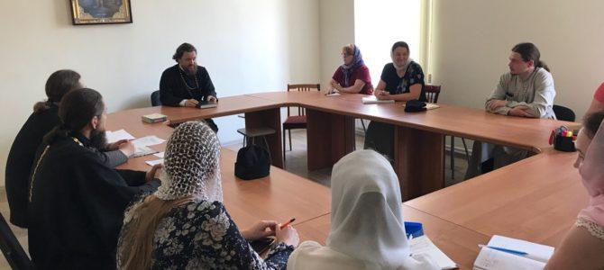 В Троицкой епархии обсудили вопросы работы с молодежью