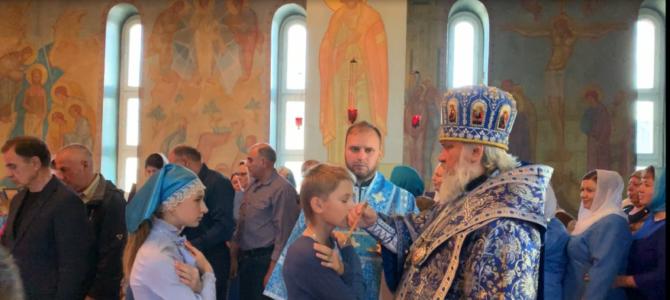 Всенощное бдение Архиерейским чином накануне Престольного праздника